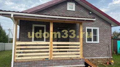Строительство каркасного дома по индивидуальному проекту в п. Новоалександрово Суздальского района Владимирской области