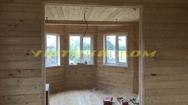Строительство дома в деревне Петрушино Орехово-Зуевского района Московской области