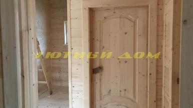 Строительство каркасного дома в деревне Папертники Пушкинского района Московской области