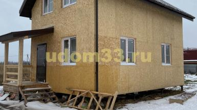 Строительство каркасного дома в с. Павловское Суздальского района Владимирской области