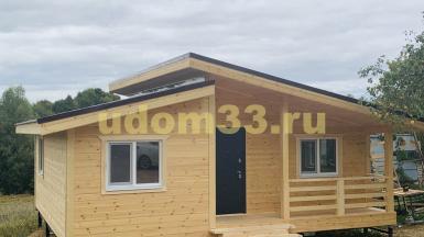 Строительство каркасного дома в д. Павловское Венёвского района Тульской области