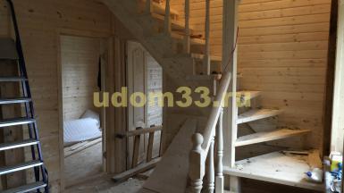Строительство каркасного дома в посёлке Першино Киржачского района Владимирской области