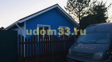 Строительство каркасного дома в СНТ Мелиоратор Петушинского района Владимирской области
