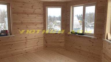 Строительство каркасного дома для круглогодичного проживания в г. Радужный Владимирской области