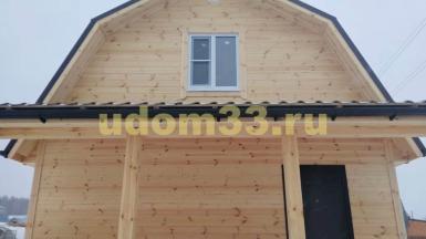 Строительство каркасного дома в г. Радужный Владимирской области