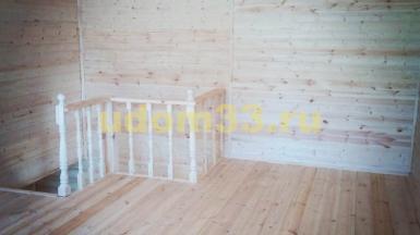 Строительство каркасного дома в деревне Ряхово Камешковского района Владимирской области