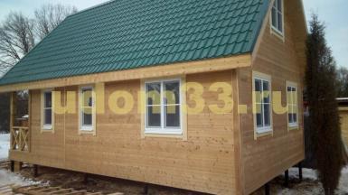 Строительство каркасного дома в деревне Рясницино Киржачского района Владимирской области