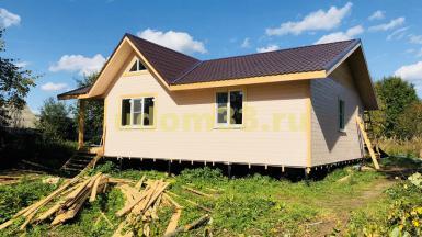 Строительство каркасного дома в деревне Резанка Борисоглебского района Ярославской области
