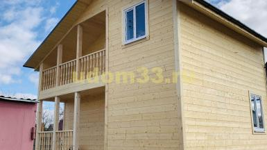 Строительство каркасного дома в городе Родники Ивановской области