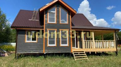 Строительство каркасного дома в д. Щеблово Заокского района Тульской области