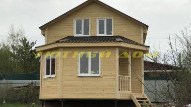 Строительство дачного дома в СНТ Содружество г. Кольчугино Владимирской области