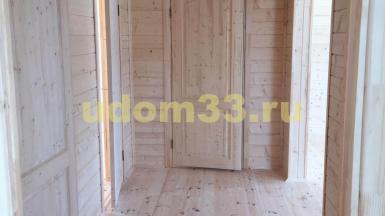 Строительство каркасного дома в Спасском районе Рязанской области