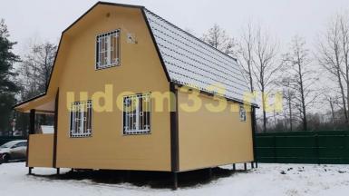 Строительство каркасного дома в деревне Старое Перепечино Петушинского района Владимирской области