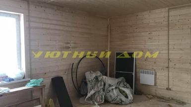 Строительство каркасного дома в посёлке Ставрово Владимирской области
