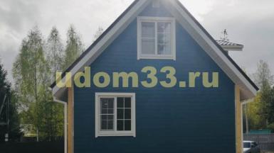 Строительство каркасного дома в деревне Стулово Московской области