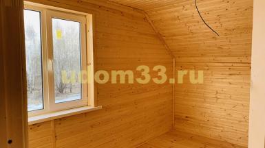 Строительство каркасного дома в г. Ступино Московской области