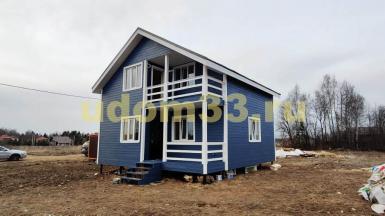 Строительство каркасного дома в д. Сурмино Дмитровского района Московской области