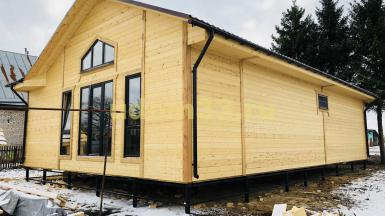 Строительство каркасного дома для круглогодичного проживания в городе Суздаль Владимирской области