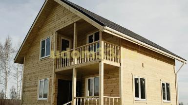 Строительство каркасного дома в городе Вязники Владимирской области