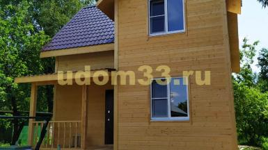 Строительство каркасного дома в СНТ Ядрошино-2 Истринского района Московской области