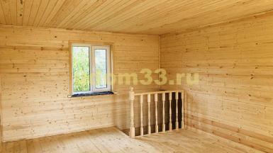 Строительство каркасного дома в деревне Захарово Судогодского района Владимирской области