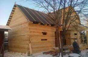 Строительство домов из бруса. Полный спектр услуг