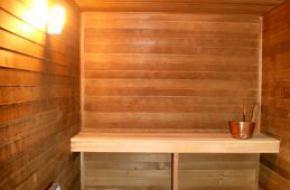 Некоторые особенности строительства бани и сауны