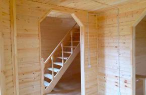 Почему деревянную вагонку так любят применять в отделке домов?