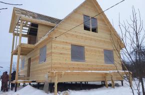 Преимущества зимнего строительства