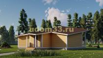 Современный каркасный дом 11х15.3. Проект ДК-100 «Полёт»