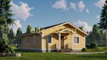 Одноэтажный каркасный дом 9.5х13. Проект ДК-95 «Ногинск»