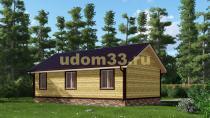 Дачный дом 8х10 под ключ. Проект ДКД-20
